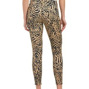 7 For All Mankind The Ankle Skinny Leopard Skinny